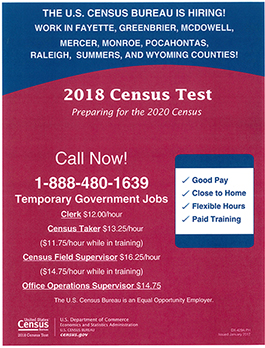 2018 Census Test