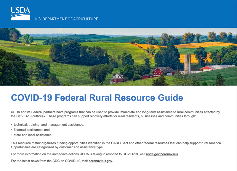 COVID-19 Federal Resource Guide